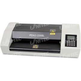 1.5m / min Office Metal Pouch Lamination Machine 330mm Laminating Width PDA3-330SL